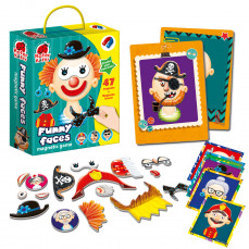 Magnetic game «Funny faces»
