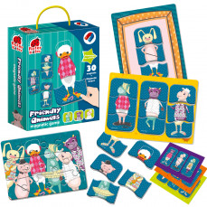 Magnetic game «Friendly animals»